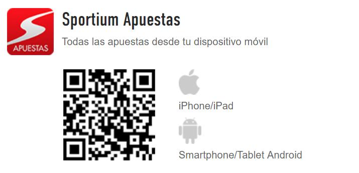 App Sportium Apuestas