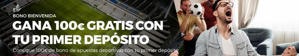 Bono de bienvenida apuestas Casino Gran Madrid