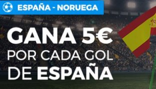 gana 5€ por cada gol de España